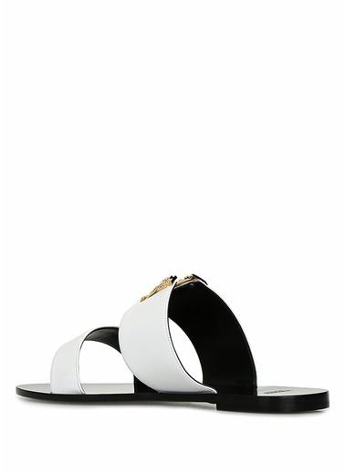 Versace Terlik Beyaz